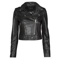衣服 女士 皮夹克/ 人造皮革夹克 Oakwood NIKKO 黑色