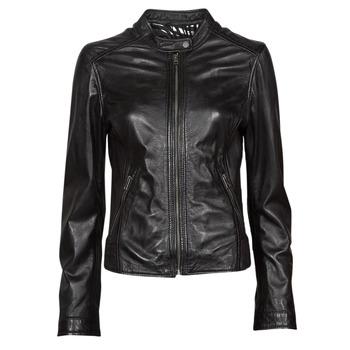 衣服 女士 皮夹克/ 人造皮革夹克 Oakwood KARINE 黑色