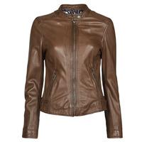衣服 女士 皮夹克/ 人造皮革夹克 Oakwood KARINE 棕色