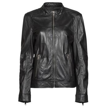 衣服 女士 皮夹克/ 人造皮革夹克 Oakwood DUBLIN 黑色