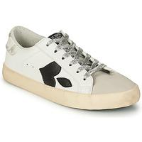 鞋子 女士 球鞋基本款 Le Temps des Cerises AUSTIN 白色 / 黑色