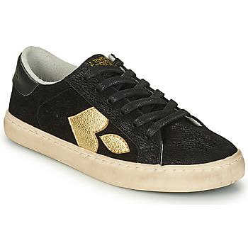 鞋子 女士 球鞋基本款 Le Temps des Cerises AUSTIN 黑色 / 金色