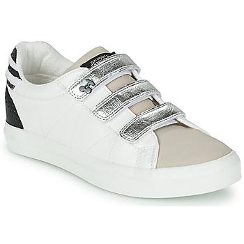 鞋子 女士 球鞋基本款 Le Temps des Cerises VIC 白色 / 银灰色