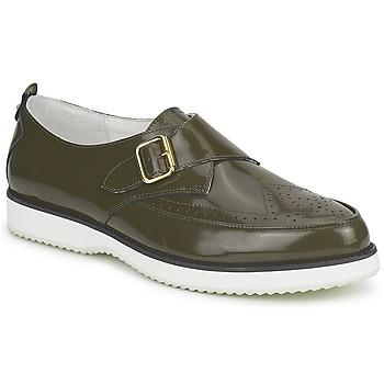 鞋子 女士 皮便鞋 McQ Alexander McQueen 308658 绿色