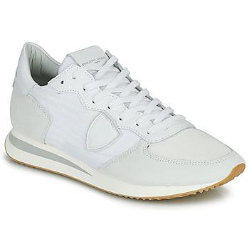 鞋子 男士 球鞋基本款 PHILIPPE MODEL TRPX LOW BASIC 白色