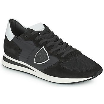 鞋子 男士 球鞋基本款 PHILIPPE MODEL TRPX LOW BASIC 黑色