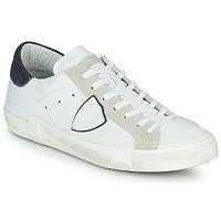 鞋子 男士 球鞋基本款 PHILIPPE MODEL PRSX LOW MAN 白色