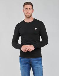 衣服 男士 长袖T恤 Guess CN LS CORE TEE 黑色