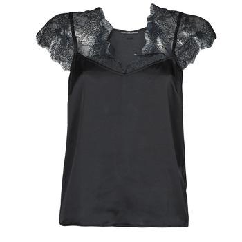 衣服 女士 女士上衣/罩衫 Guess SS MIRANDA TOP 黑色