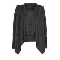 衣服 女士 皮夹克/ 人造皮革夹克 Guess SOFIA JACKET 黑色