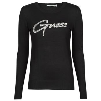 衣服 女士 羊毛衫 Guess ADA RN LS SWTR 黑色