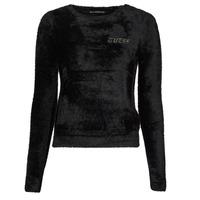 衣服 女士 羊毛衫 Guess CANDACE RN LS SWTR 黑色