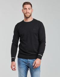 衣服 男士 羊毛衫 Guess KEVIN LS CN SLIM FIT SWTR 黑色