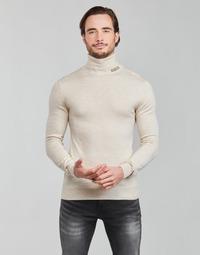 衣服 男士 羊毛衫 Guess LANE BASIC TURTLE NECK 白色