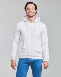 衣服 男士 卫衣 Guess CHRISTIAN HOODIE FLEECE 白色