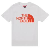衣服 男孩 短袖体恤 The North Face 北面 EASY TEE SS 白色