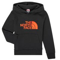 衣服 男孩 卫衣 The North Face 北面 DREW PEAK HOODIE 黑色