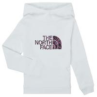 衣服 女孩 卫衣 The North Face 北面 DREW PEAK HOODIE 白色