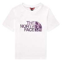 衣服 女孩 短袖体恤 The North Face 北面 EASY BOY TEE 白色