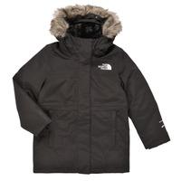 衣服 女孩 棉衣 The North Face 北面 ARCTIC SWIRL PARKA 黑色