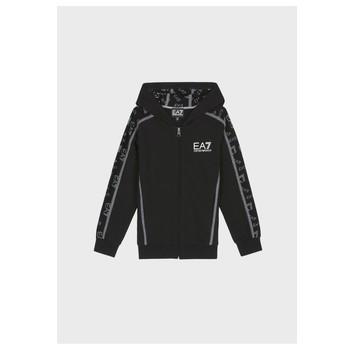 衣服 男孩 卫衣 EA7 EMPORIO ARMANI MANTHA 黑色