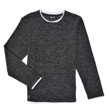 衣服 男孩 长袖T恤 Deeluxe MONAN 黑色