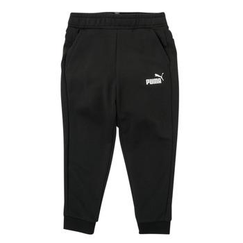 衣服 男孩 厚裤子 Puma 彪马 ESSENTIAL SLIM PANT 黑色