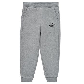 衣服 男孩 厚裤子 Puma 彪马 ESSENTIAL SLIM PANT 灰色