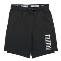 衣服 男孩 短裤&百慕大短裤 Puma 彪马 ALPHA SHORT 黑色