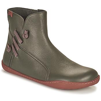 鞋子 女士 短筒靴 Camper 看步 PEU CAMI 灰色