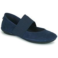 鞋子 女士 平底鞋 Camper 看步 RIGHT NINA 蓝色