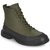 鞋子 男士 短筒靴 Camper 看步 PIX 黑色 / 卡其色