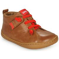 鞋子 儿童 德比 Camper 看步 PEU CAMI 棕色