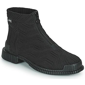 鞋子 女士 短筒靴 Camper 看步 PIX 黑色