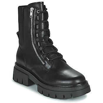 鞋子 女士 短筒靴 Ash 艾熙 LETS 黑色