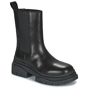 鞋子 女士 短筒靴 Ash 艾熙 STORM 黑色