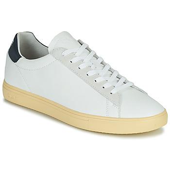 鞋子 男士 球鞋基本款 Claé BRADLEY CALIFORNIA 白色 / 蓝色