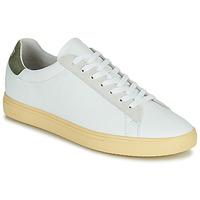 鞋子 男士 球鞋基本款 Claé BRADLEY CALIFORNIA 白色 / 绿色