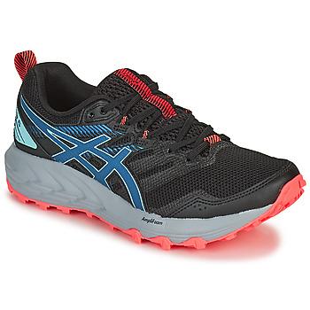 鞋子 女士 跑鞋 Asics 亚瑟士 GEL-SONOMA 6 黑色 / 蓝色 / 玫瑰色