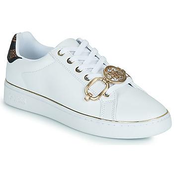鞋子 女士 球鞋基本款 Guess BABE 白色