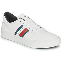 鞋子 男士 球鞋基本款 Tommy Hilfiger CORE CORPORATE STRIPES VULC 白色