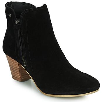 鞋子 女士 短靴 Ravel TULLI 黑色