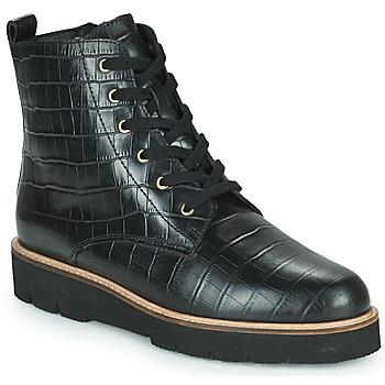 鞋子 女士 短筒靴 Ravel MAYA 黑色