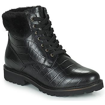 鞋子 女士 短筒靴 Ravel IRIS 黑色