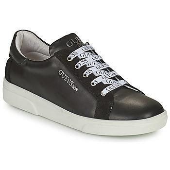 鞋子 男孩 球鞋基本款 Guess COLE 黑色