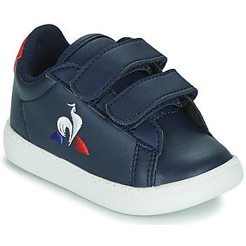 鞋子 儿童 球鞋基本款 Le Coq Sportif 乐卡克 COURTSET INF 蓝色