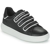 鞋子 儿童 球鞋基本款 KARL LAGERFELD GOLINDA 黑色