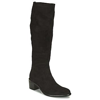 鞋子 女士 都市靴 Adige DIANE V1 CAMOSCIO NOIR 黑色