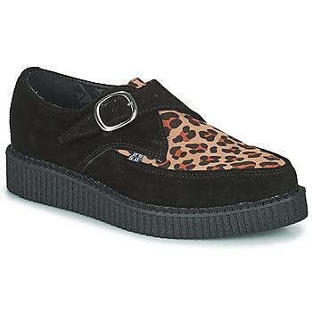 鞋子 德比 TUK POINTED CREEPER MONK BUCKLE 黑色 / Leopard