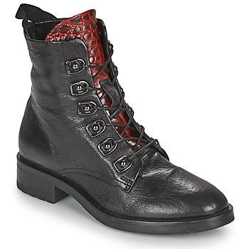 鞋子 女士 短筒靴 Metamorf'Ose KARDIESSE 黑色